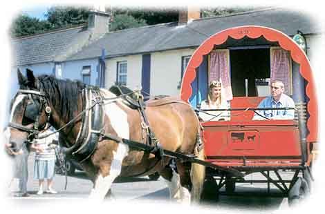 Amazing Horsedrawn Gipsy Caravan  Flickr  Photo Sharing